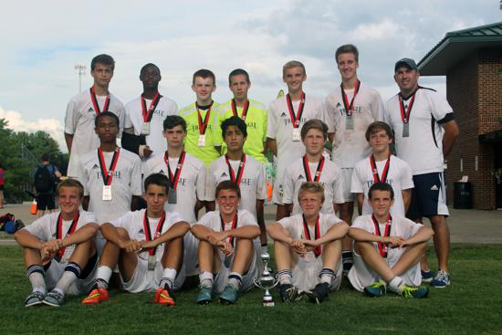 CASL Qualifier 2015 U16 First Division Finalists.