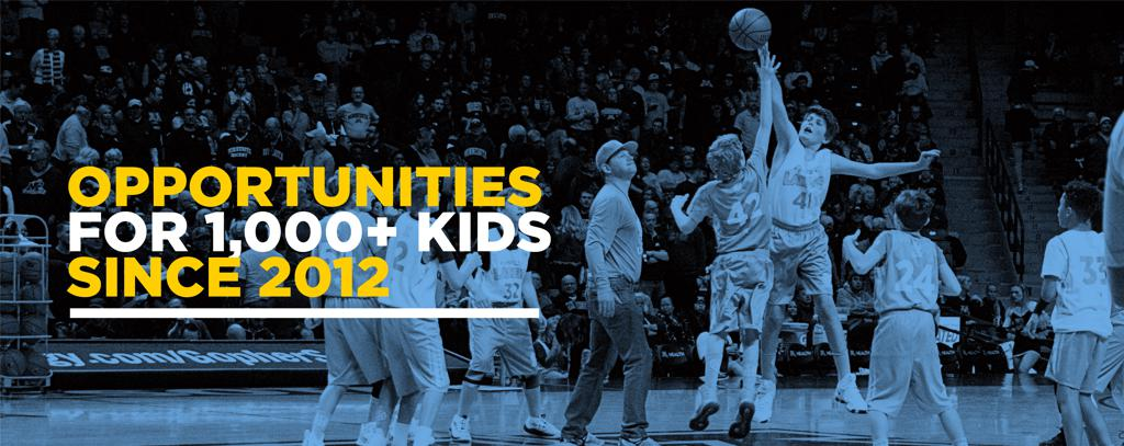 OPPORTUNITIES FOR 1,000+ KIDS SINCE 2012