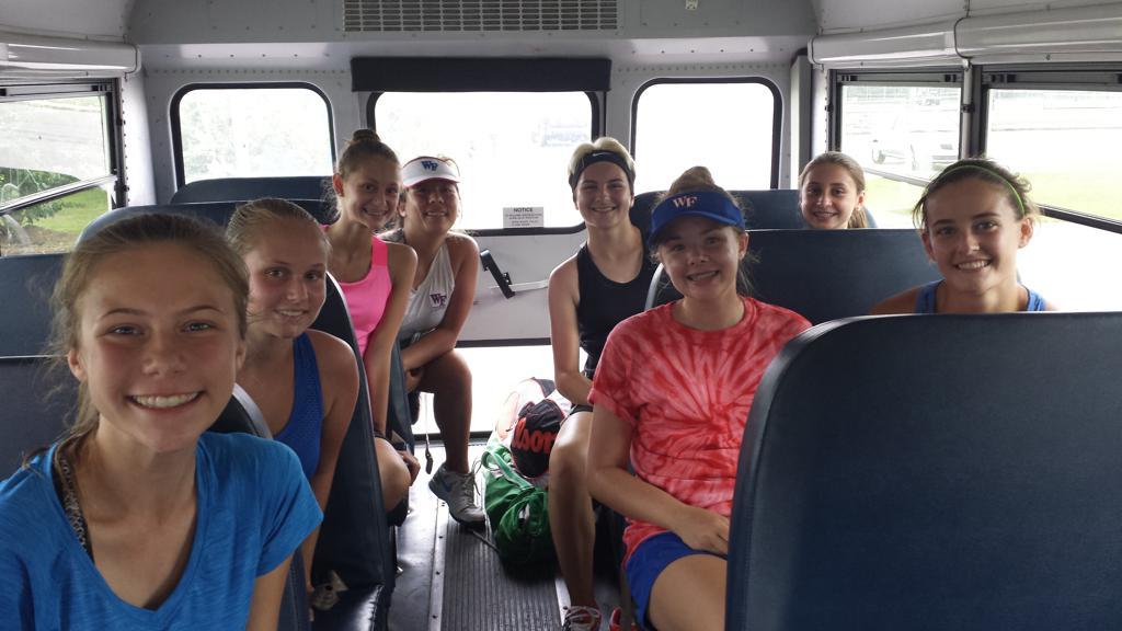 Tennis match travel
