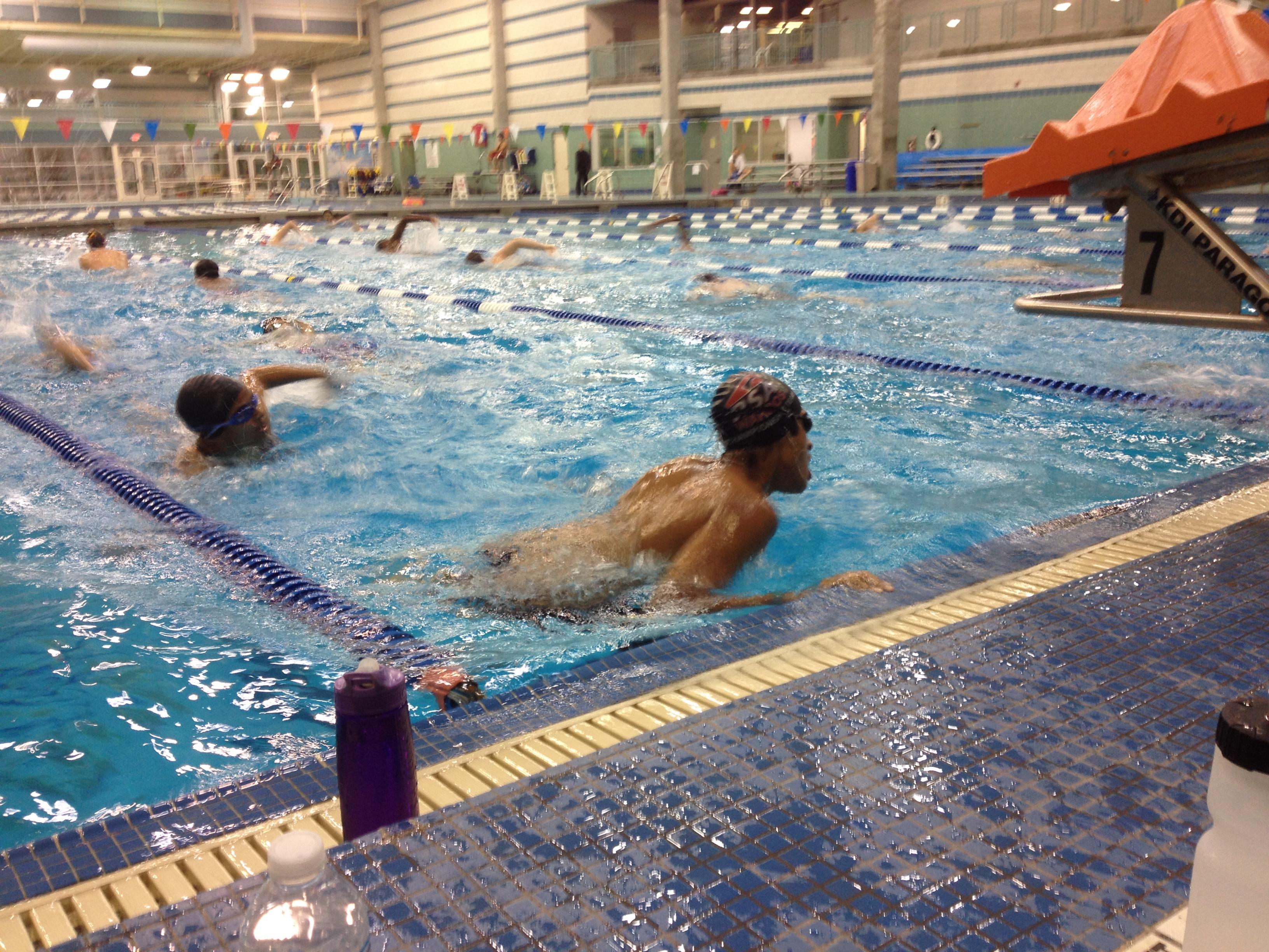 Enloe M W Swimming