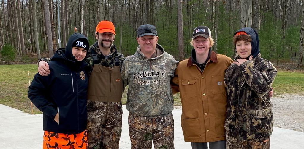 Left to Right: Danil Gushchin, Jan Skorpik, Greg Bouwman, Andrew Bouwman, David Hymovitch