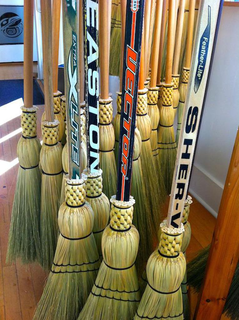 THE BROOMS WERE OUT IN LEXINGON