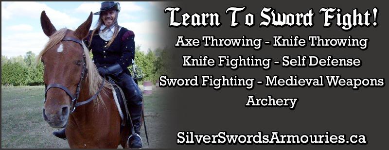Sword Lessons In Mississauga - Sword Lessons Oakville