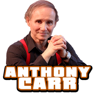 AnthonyCarr, World renowned Psychic - he predicted 9/11