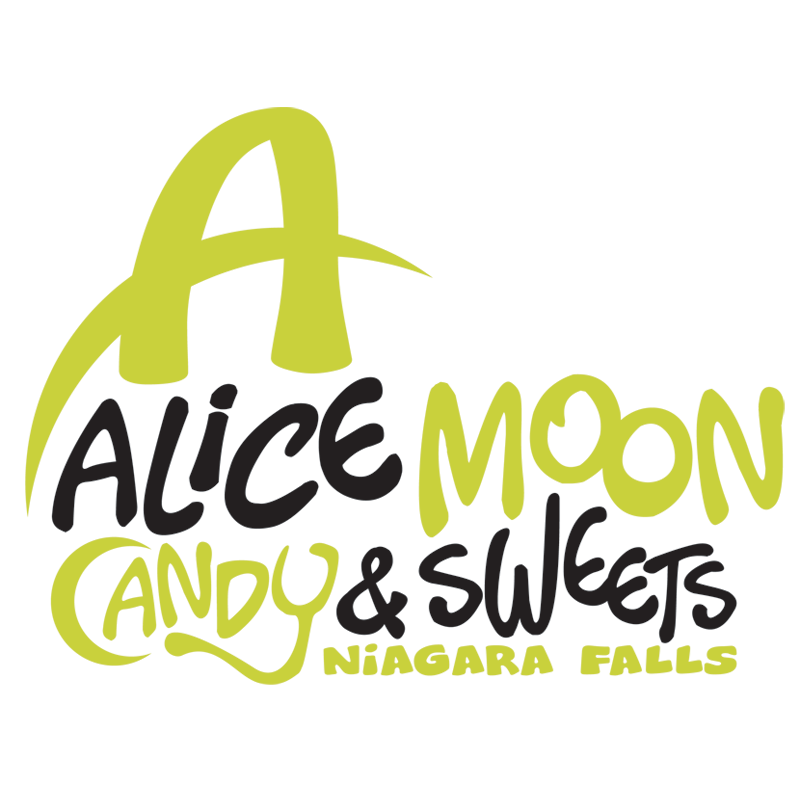 Mississauga Logo Design by Kevin J. Johnston - Allice Moon Candy And Sweets