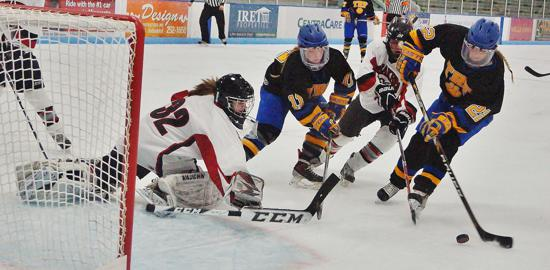 Thief River Falls was last year's Class A champion, finishing 26-1-3. Photo credit: YHH.