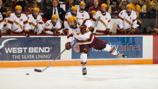 BIG10: Captain Kloos Making An Impact For Gophers