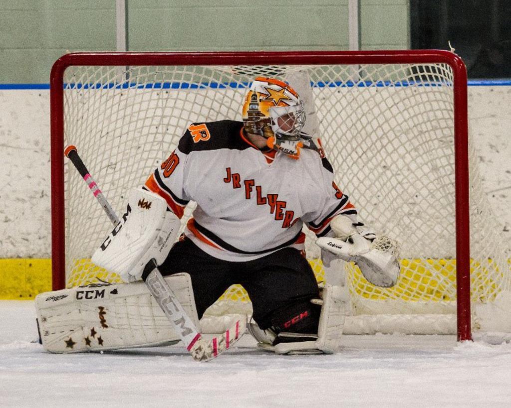Brandon Novabilski named Jr. Flyers Player of the Week for week ending January 27