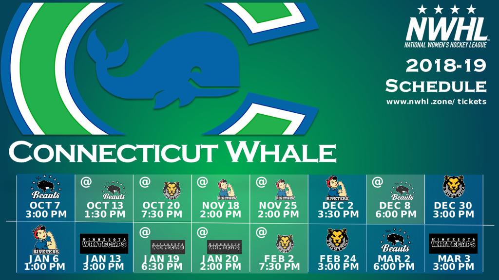 CT Whale Schedule