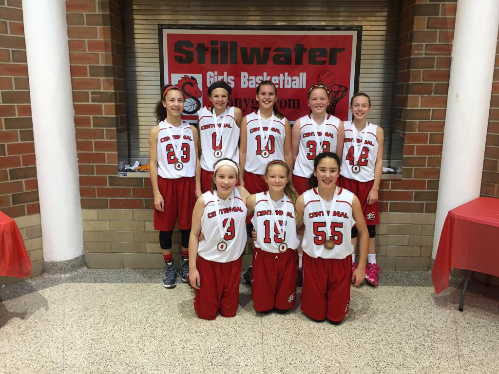 6th Grade A - 3rd Place - Centennial