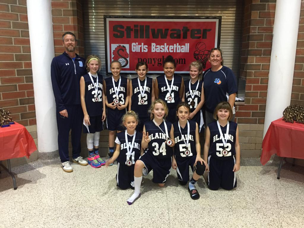 4th Grade B - 3rd Place - Blaine