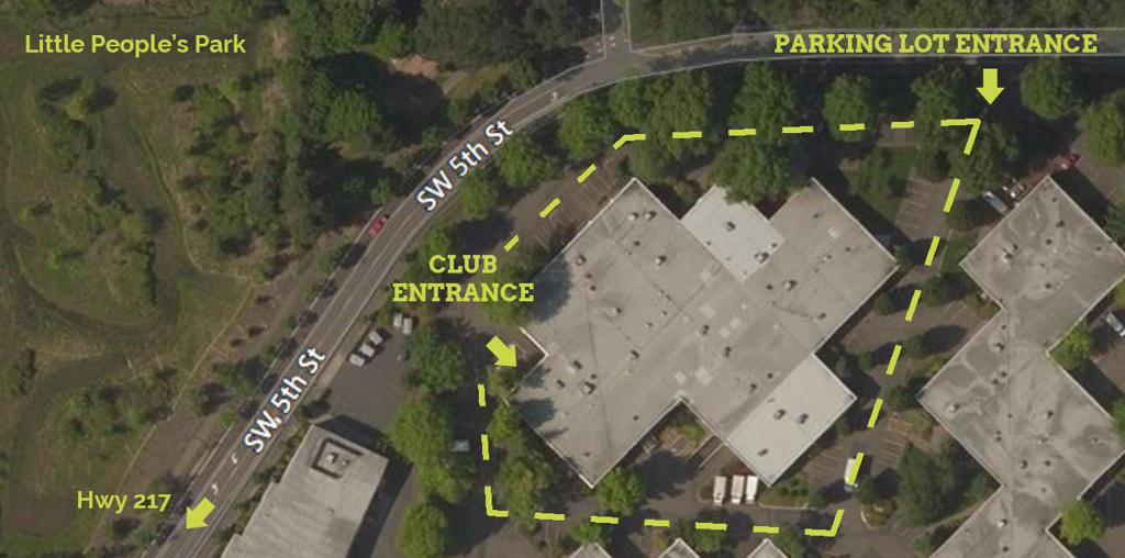 Navigating the Greentree West parking lot