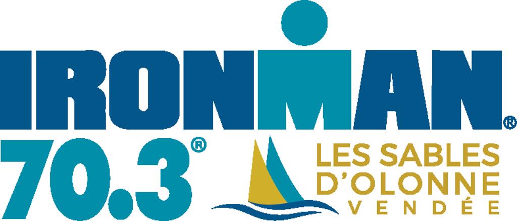 Official IRONMAN 70.3 Les Sables d'Olonne race logo