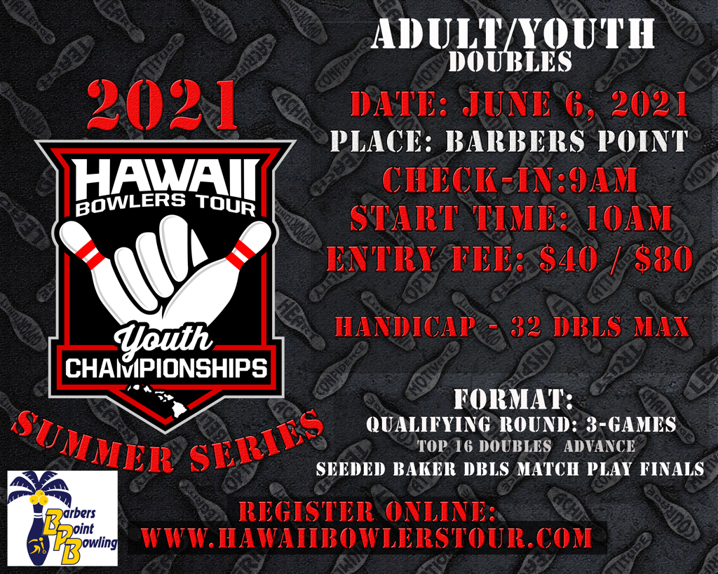 2021 HBT Summer Series Adult/Youth Doubles HANDICAP Event
