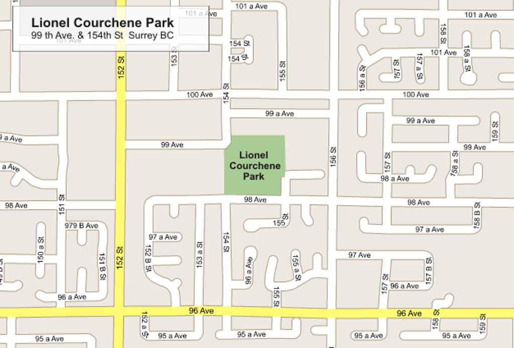 Lionel Courchene Park Location