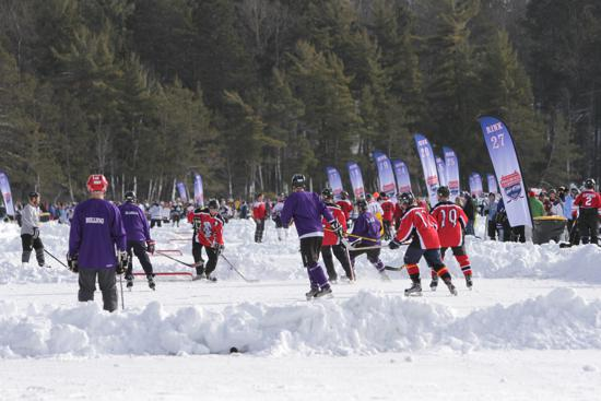 Nbc Sports To Feature Eagle River Usa Pond Hockey Chionships