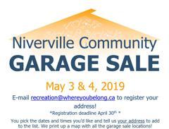 Spring Garage Sale Poster