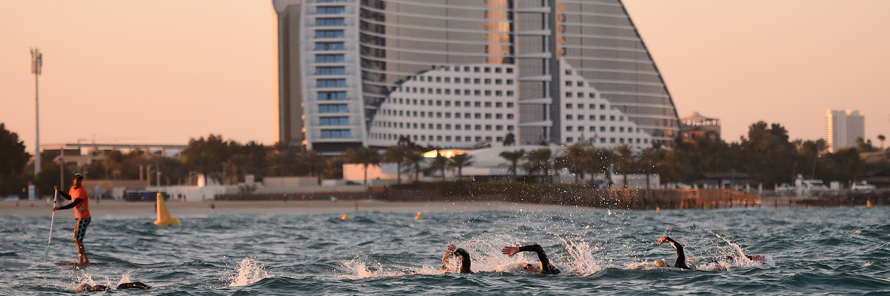 Swim IRONMAN 70.3 Dubai