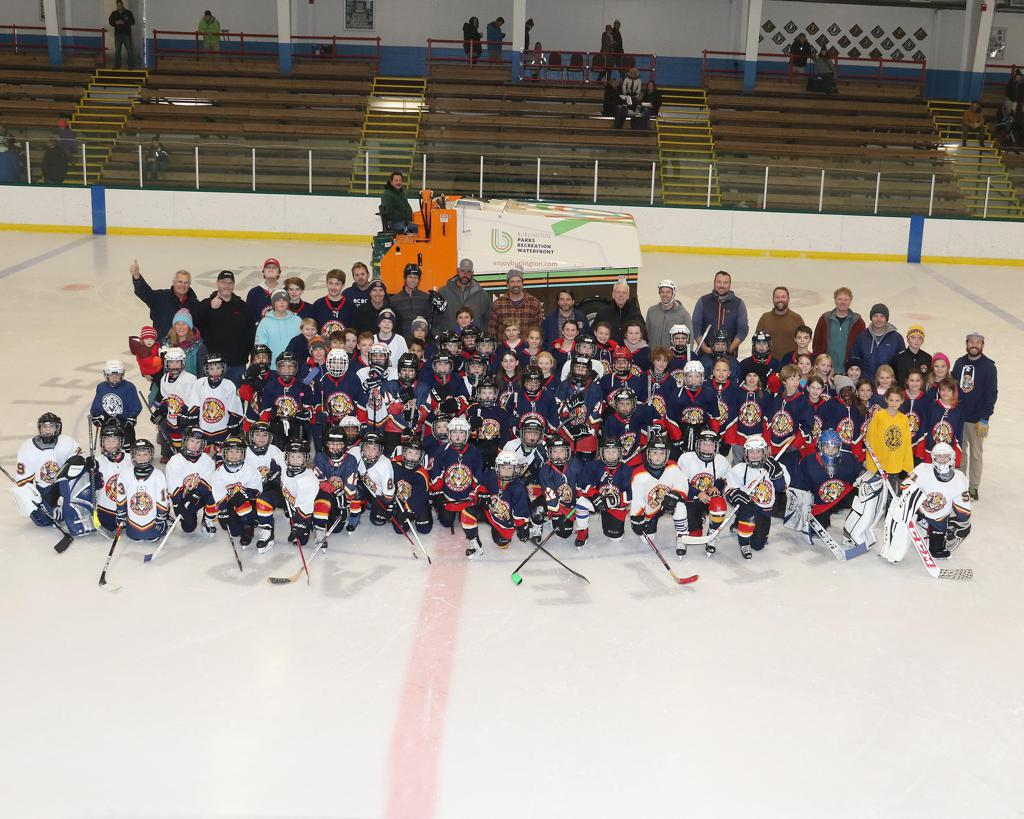 The BAHA community lost a great friend today. Dale Ledoux was more then the guy who drove the Zamboni. He was a friend to all that came into Leddy arena. Dale Lost his battle with Cancer early on Wednesday Morning. This picture was taken on Friday night t