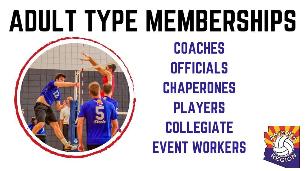 Adult Memberships Graphic