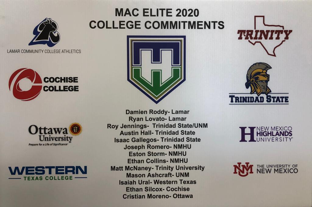 MAC ELITE CLASS OF 2020