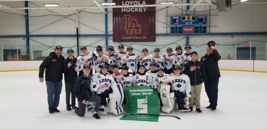 2019 Chicgao Regional Silver Stick Bantam Champions West Dundee Leafs