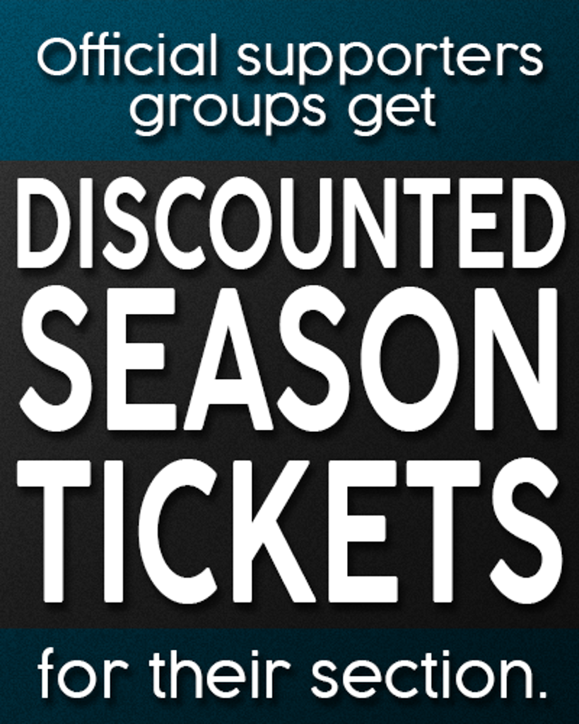 Offical Switchbacks FC Supporter Groups receive discounted tickets.