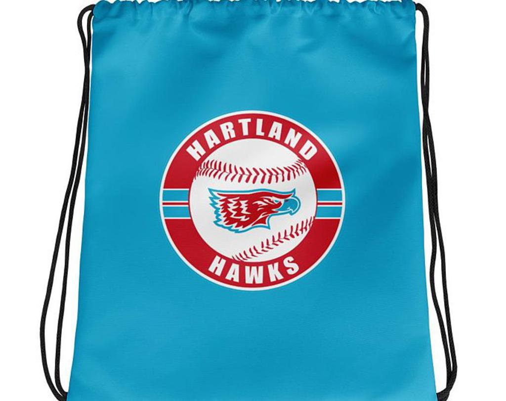 Drawstring Bag (blue or red)