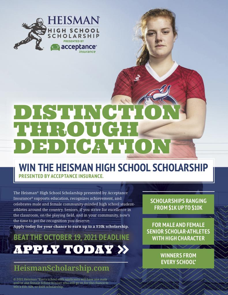 Heisman Scholarship for Student Athletes