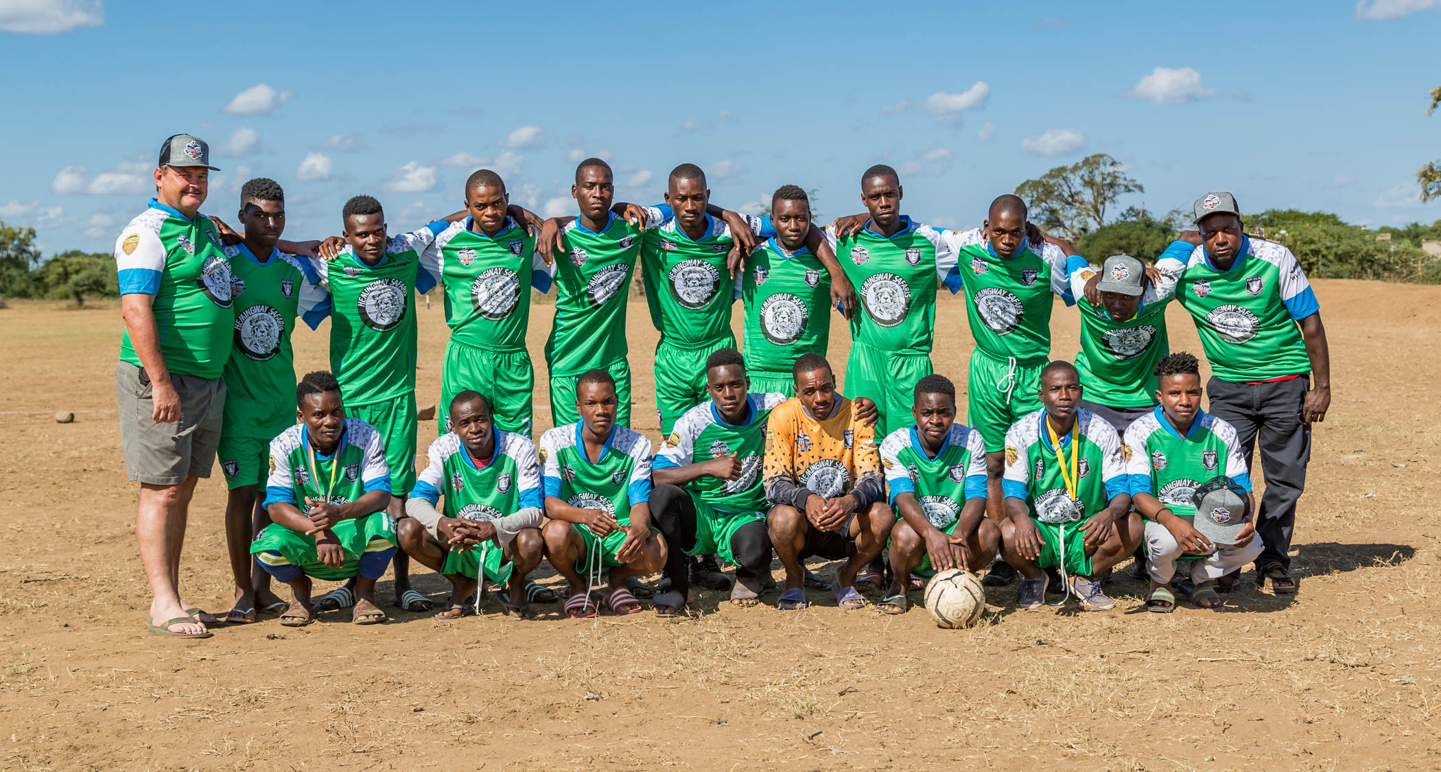 Agri-Sul FC Leopards Team Photo, Rhino Cup Champions League, May 2019