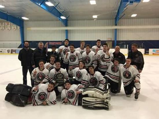 Congratulation to our Midget A team: MAHA D4 Champs!!  Good Luck at states