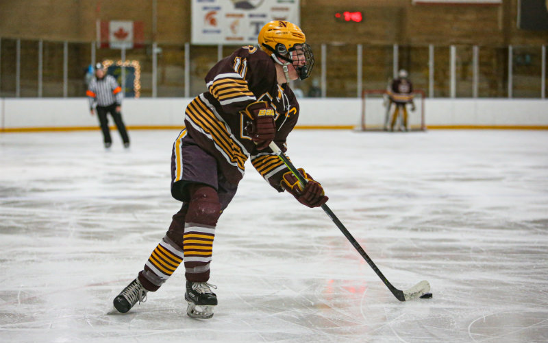 Northfield's Carson VanZuilen cracked the state's all-time leaders list in his junior year with 103 assists. Photo by Mark Hvidsten, SportsEngine