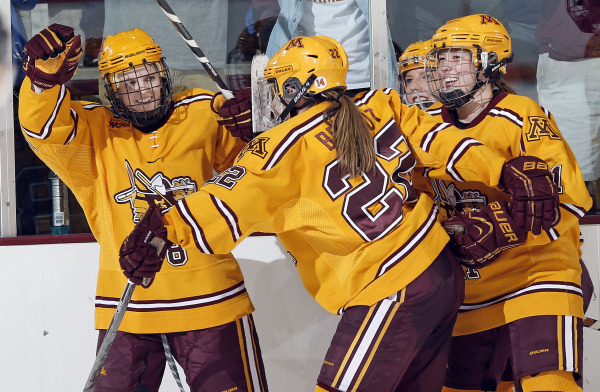 NCAA: Gopher Women To Face Badgers In Frozen Four Semi
