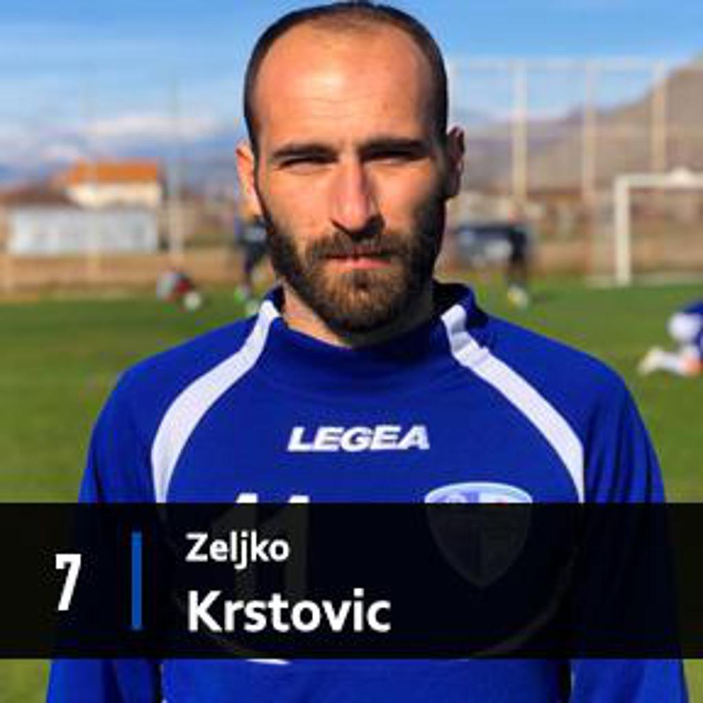 ZELJKO KRSTOVIC FK DECIC TUZI 1926 MIDFIELDER