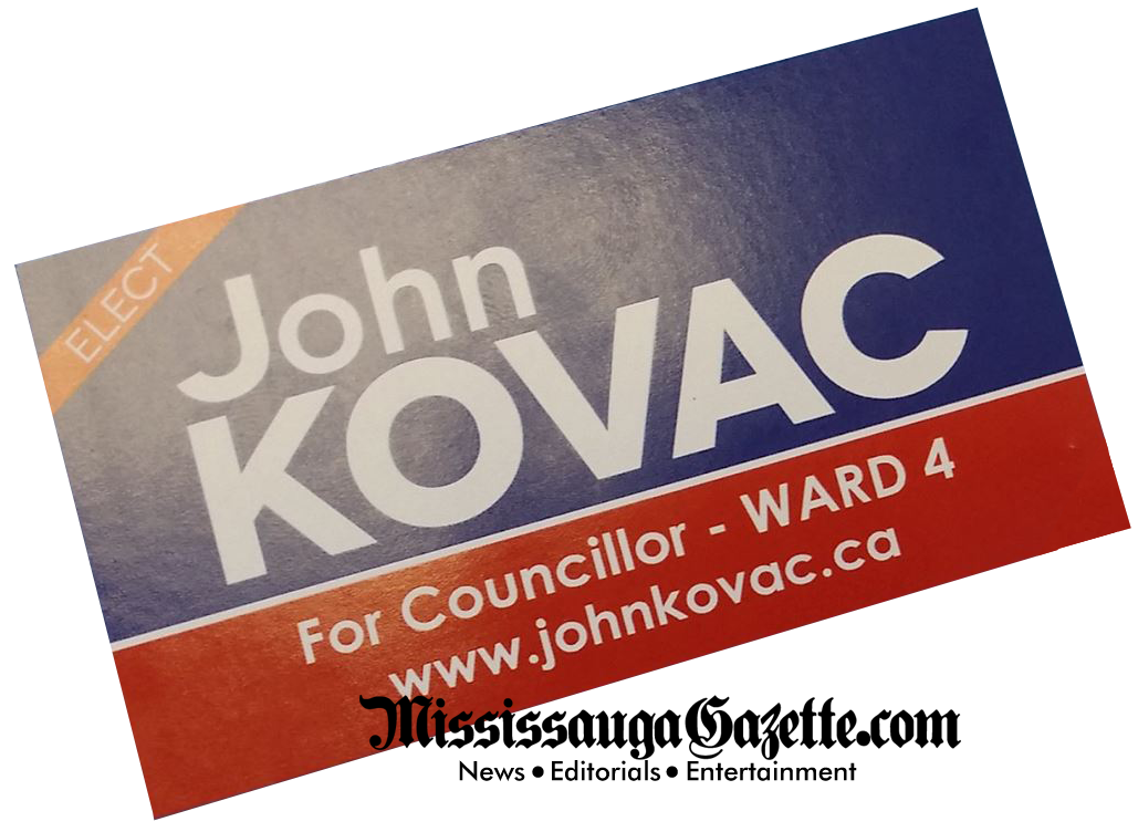 John Kovac - Mississauga City Council - Ward 4 - Mississauga City Hall - Mississauga City Council - Bonnie Crombie Mississauga Mayor - Mississauga News and Mississauga Gazette