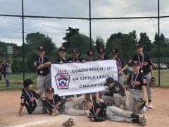 U11 Coach Pitch 2019 Champions