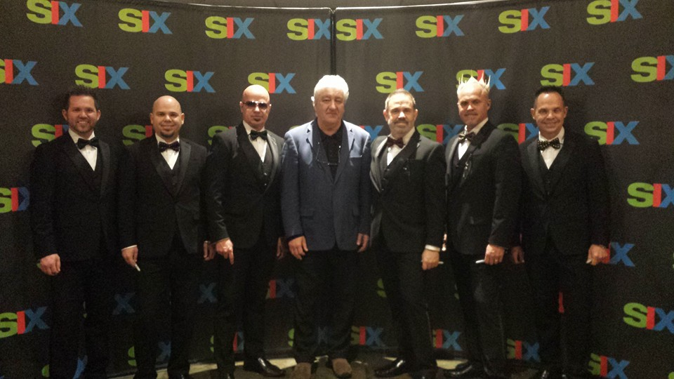 The Group SIX with YBN founder & CEO, Gil Vieira, at the Mickey Gilley Theatre in Branson