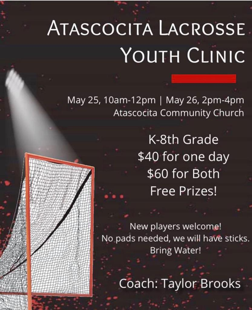 Youth Clinic Coming Up!!