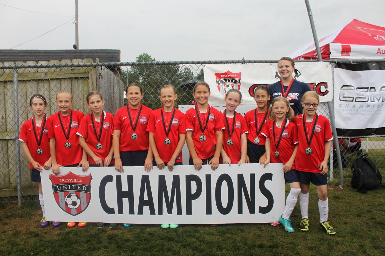 "Freedom 07 Girls Win Trussville United Classic ""U10 6v6 Black"" Championship"