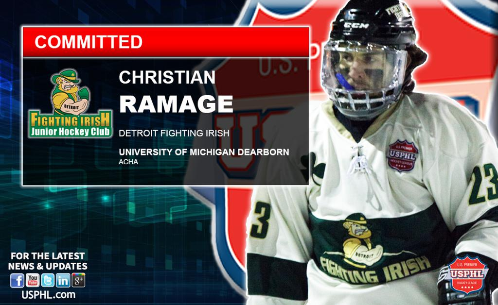 Detroit's Christian Ramage Commits To University Of