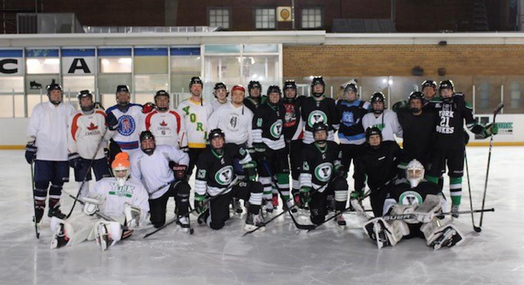 York Hockey Alumni and Seniors continued their annual tradition of an Alumni Skate at the YMCA Ice Rink (February 24).  Thank you to all Alumni and Senior players for coming out.  Also, congratulations to the YMCA Ice Rink for celebrating its 60th season!
