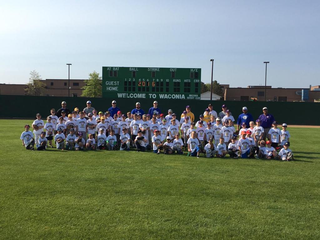 2016 Waconia Baseball Association Youth Clinic