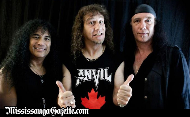 Anvil the Heavy Metal Band. Robb Reiner - drums Lips - lead vocals, lead guitar Ian Dickson - bass Dave Allison - rhythm guitar, vocals. Robb Reiner - drums Chris Robertson - bass Lips - lead vocals, lead guitar. Mississauga News and Mississauga Newspaper