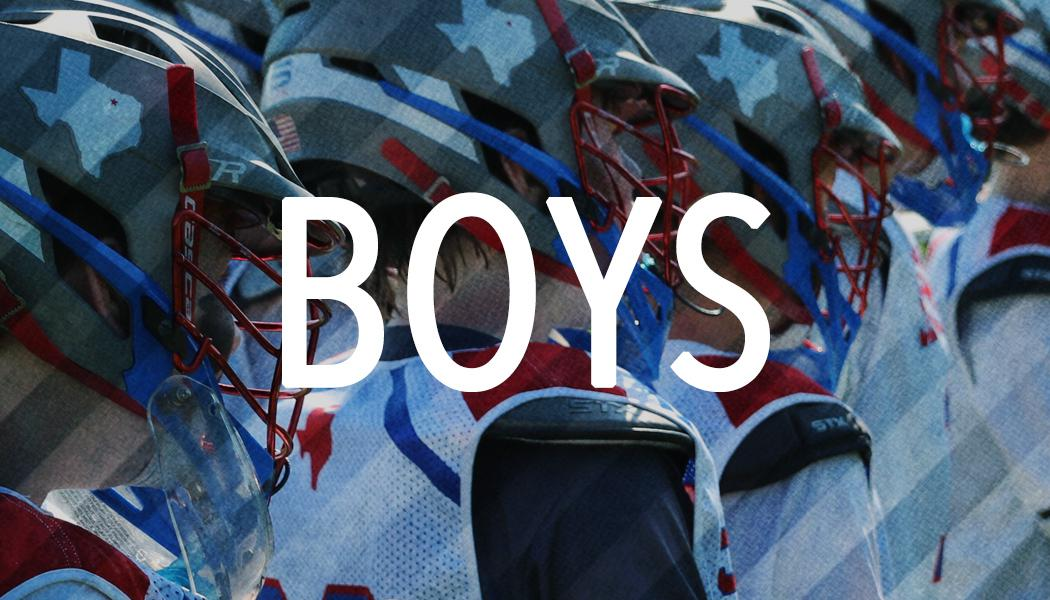 Boys Dallas Lacrosse Travel Teams