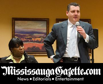 Matt Mahoney - Mississauga City Council - Ward 8 - Mississauga News and Mississauga Gazette - Mayor Bonnie Crombie. Khaled Iwamura from Insauga.com and Kevin J. Johnston from Mississauga Gazette