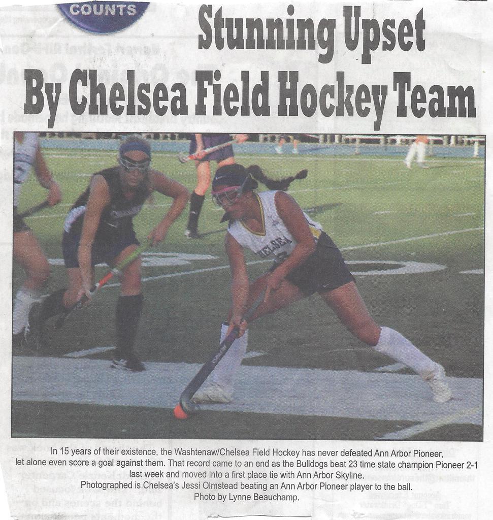 CFH beats Ann Arbor Pioneer - Sun Times article