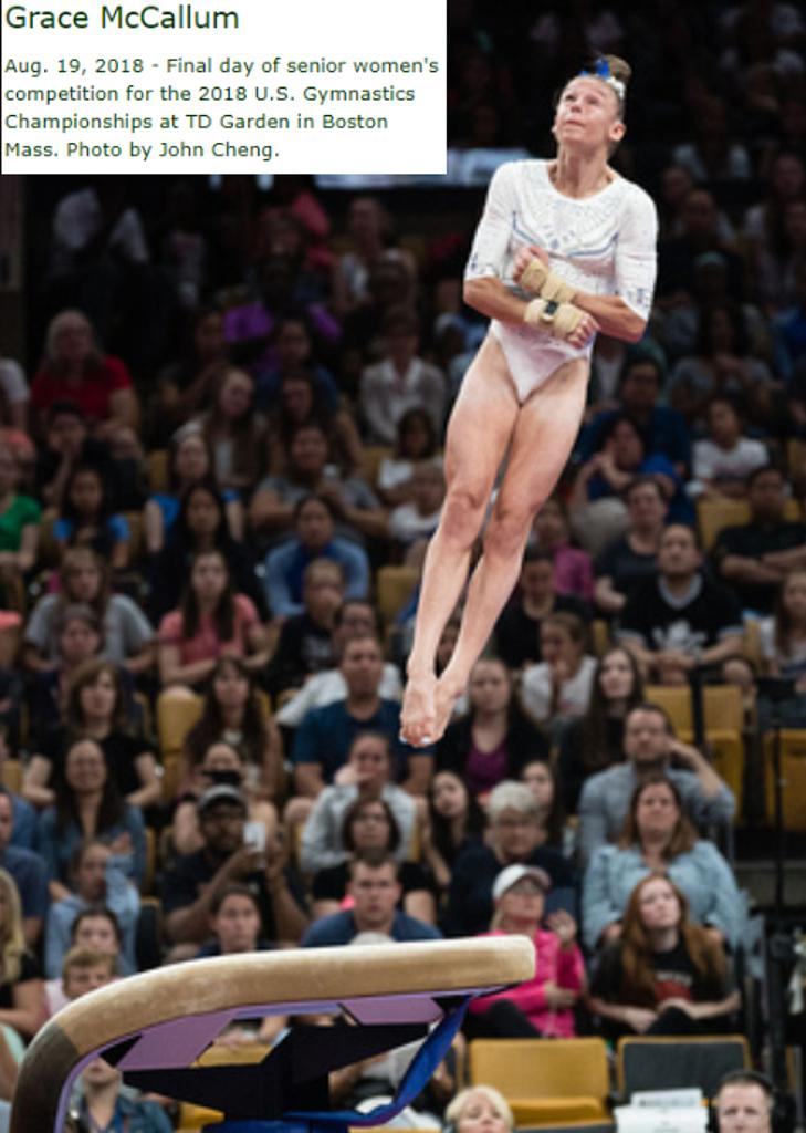 TCT's Grace McCallum Heading to World Championships!