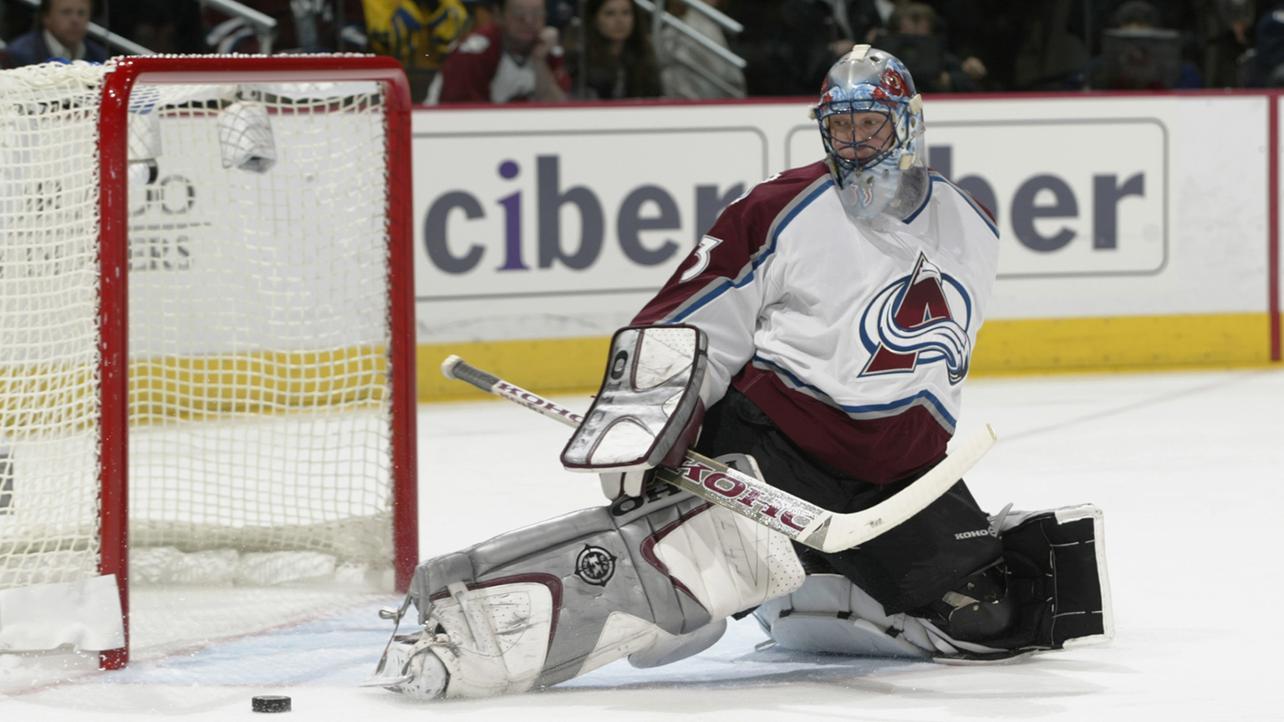 Former Colorado Avalanche goalie Patrick Roy. Photo courtesy of the NHL