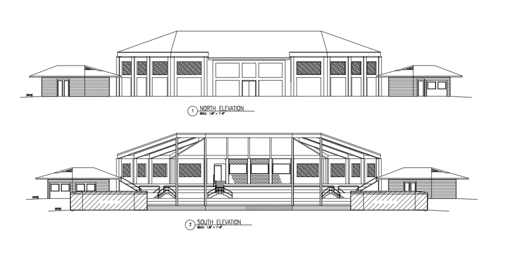 Rendering of the 2016 Raise the Grandstand Project