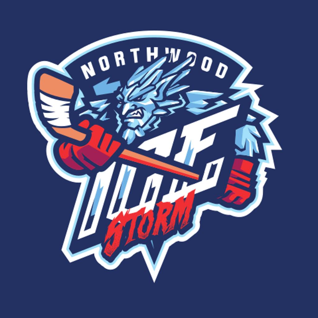 Ice Storm Hockey Logo